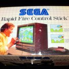 Rapid Fire Control Stick - Sega Master System - With Box - Extremely Rare