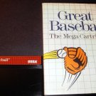 Great Baseball - Sega Master System - With Box