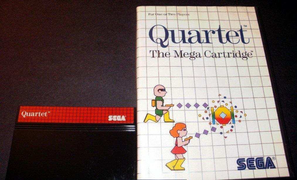Quartet - Sega Master System - With Box