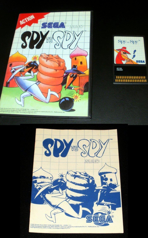 Spy vs Spy - Sega Master System - Complete CIB