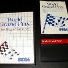 World Grand Prix - Sega Master System - Complete CIB