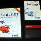 Out Run - Sega Master System - Complete CIB