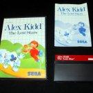 Alex Kidd The Lost Stars - Sega Master System - Complete CIB