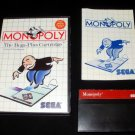 Monopoly - Sega Master System - Complete CIB