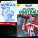Joe Montana Football - Sega Master System - Complete CIB