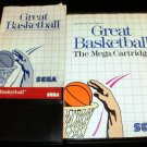 Great Basketball - Sega Master System - Complete CIB