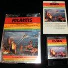 Atlantis - Atari 2600 - Complete CIB