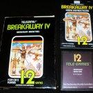 Breakaway IV - Atari 2600 - Complete CIB - Rare