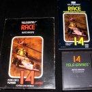 Race - Atari 2600 - Complete CIB - Rare