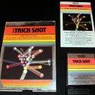 Trick Shot - Atari 2600 - Complete CIB - 1982 Text Label Version