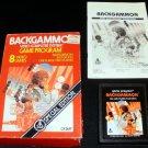 Backgammon - Atari 2600 - Complete CIB - 1981 Special Edition Version