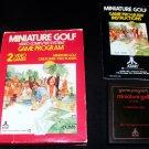 Miniature Golf - Atari 2600 - Complete CIB