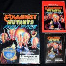 Communist Mutants from Space - Atari 2600 - Complete CIB - Rare Starpath Supercharger Game