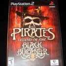 Pirates Legend of the Black Buccaneer - Sony PS2 - Brand New Factory Sealed