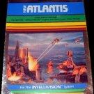 Atlantis - Mattel Intellivision - New Factory Sealed