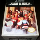Where in Time is Carmen Sandiego - Nintendo NES - Complete CIB