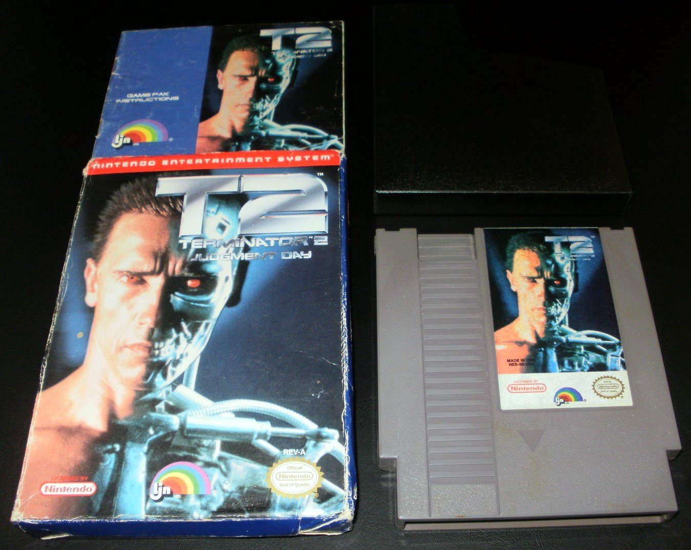 Terminator 2 Judgment Day - Nintendo NES - Complete CIB
