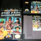 WWF Wrestlemania Steel Cage Challenge - Nintendo NES - Complete CIB
