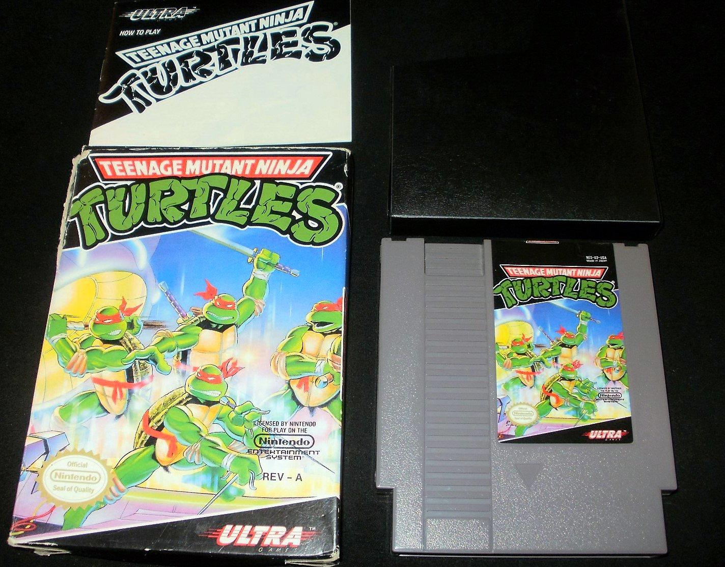 Teenage Mutant Ninja Turtles - Nintendo NES - Complete CIB