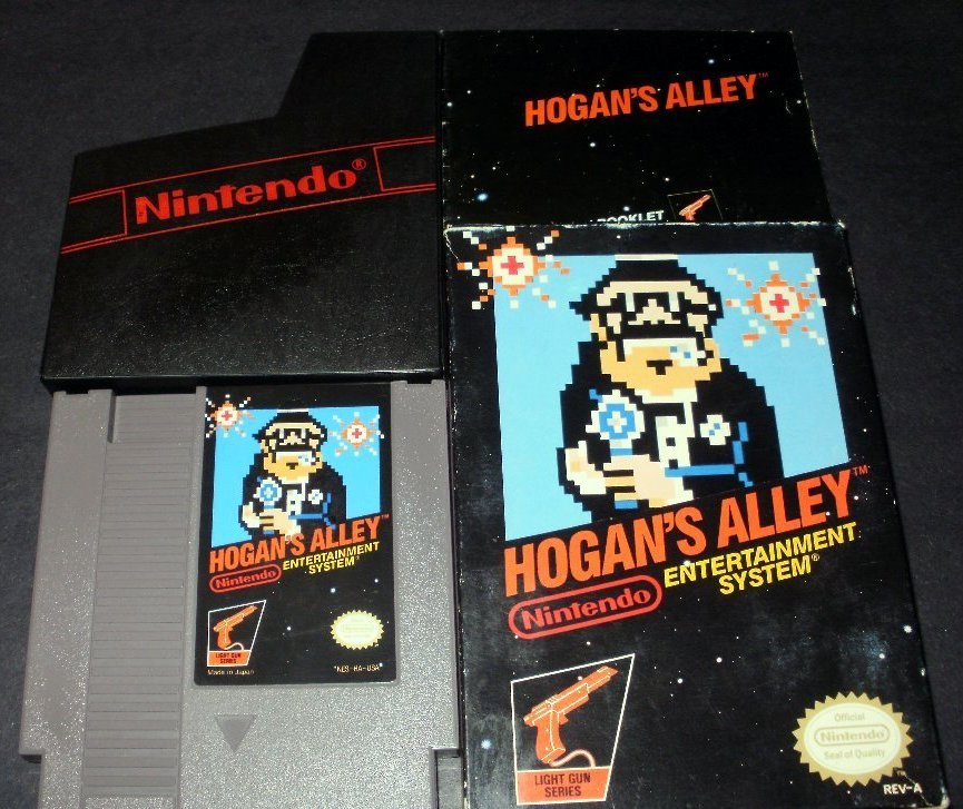 Hogan's Alley - Nintendo NES - Complete CIB