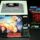 Star Trek The Next Generation - SNES Super Nintendo - Complete CIB