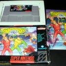 Battletoads & Double Dragon The Ultimate Team - SNES Super Nintendo - Complete CIB