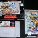 Weapon Lord - SNES Super Nintendo - Complete CIB