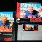 John Madden Football - SNES Super Nintendo - Complete CIB