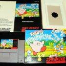 Kirby's Avalanche - SNES Super Nintendo - Complete CIB