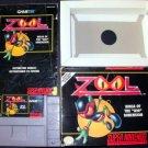 Zool - SNES Super Nintendo - Complete