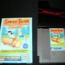 Super Team Games - Nintendo NES - With Box & Cartridge Sleeve