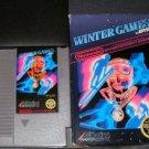 Winter Games - Nintendo NES - With Box & Cartridge Sleeve