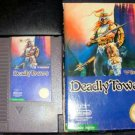 Deadly Towers - Nintendo NES - With Box & Cartridge Sleeve