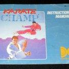Karate Champ - Nintendo NES - Manual Only