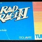 Rad Racer II - Nintendo NES - Manual Only
