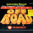 Super Off Road - Nintendo NES - Manual Only