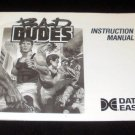 Bad Dudes - Nintendo NES - Manual Only
