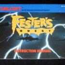 Fester's Quest - Nintendo NES - Manual Only