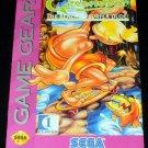 Greendog The Beached Surfer Dude - Sega Game Gear - 1993 Manual Only