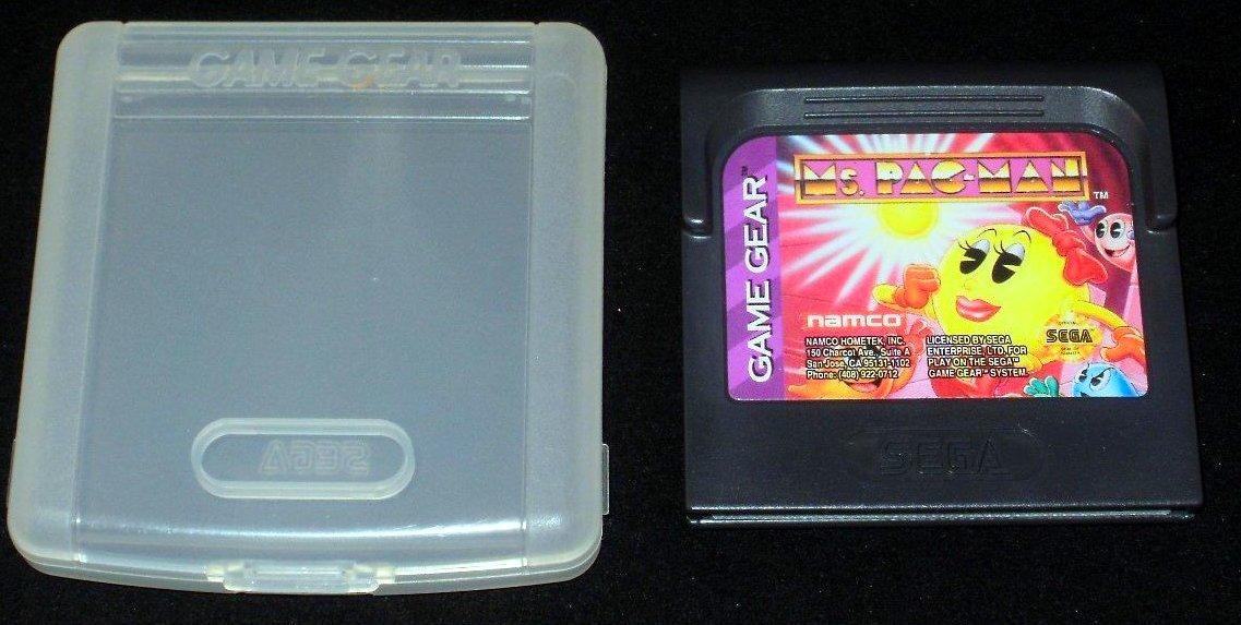 Ms. Pac-Man - Sega Game Gear - With Case