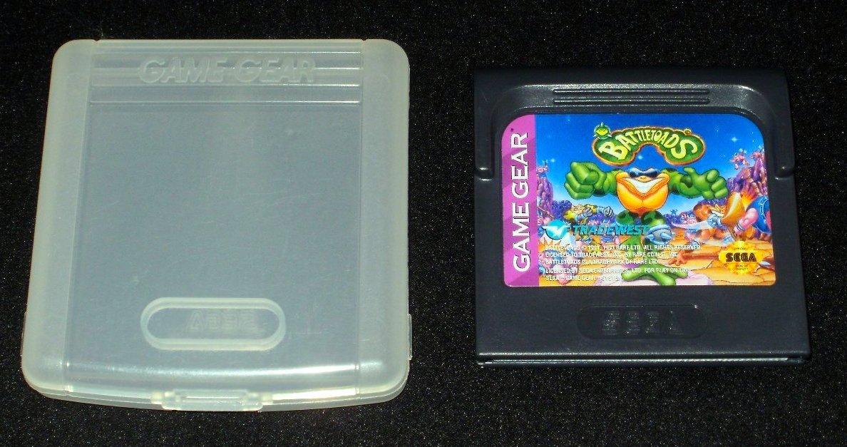 Battletoads - Sega Game Gear - With Case - Rare