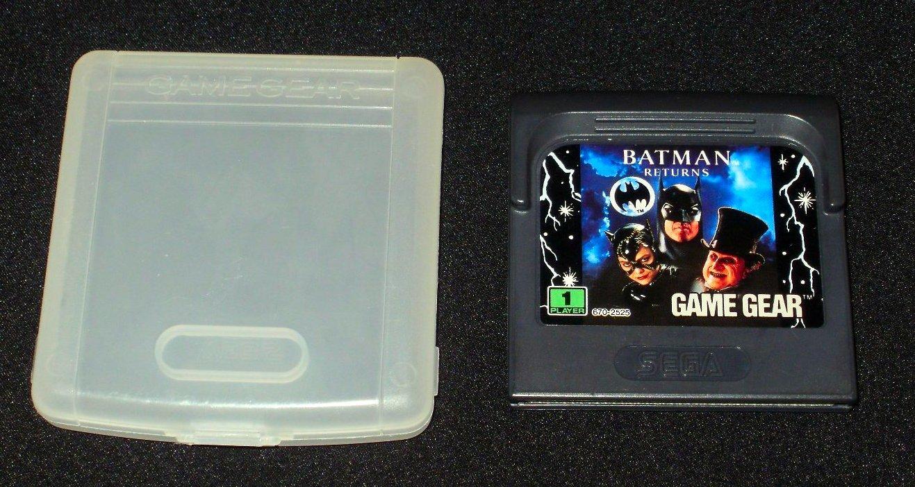 Batman Returns - Sega Game Gear - With Case