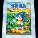 Sega Game Gear Catalog Eternal Champions Poster