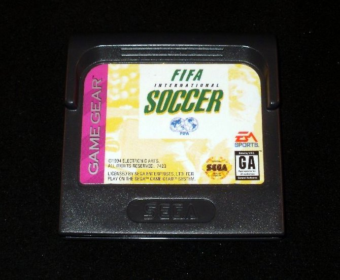 FIFA International Soccer - Sega Game Gear
