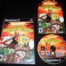Nicktoons Battle for Volcano Island - Sony PS2 - Complete CIB