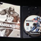 Madden NFL 07 - Sony PS2 - Complete CIB