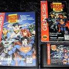 Justice League Task Force - Sega Genesis - Complete CIB