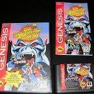 Adventures of Mighty Max - Sega Genesis - Complete CIB - ESRB Rerelease