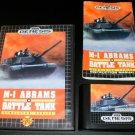 M-1 Abrams Battle Tank - Sega Genesis - Complete CIB