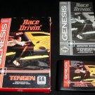 Race Drivin - Sega Genesis - Complete CIB